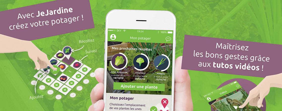 Jejardine l application qui vous aide avoir la main verte blog ma maison mon jardin - Avoir la main verte ...