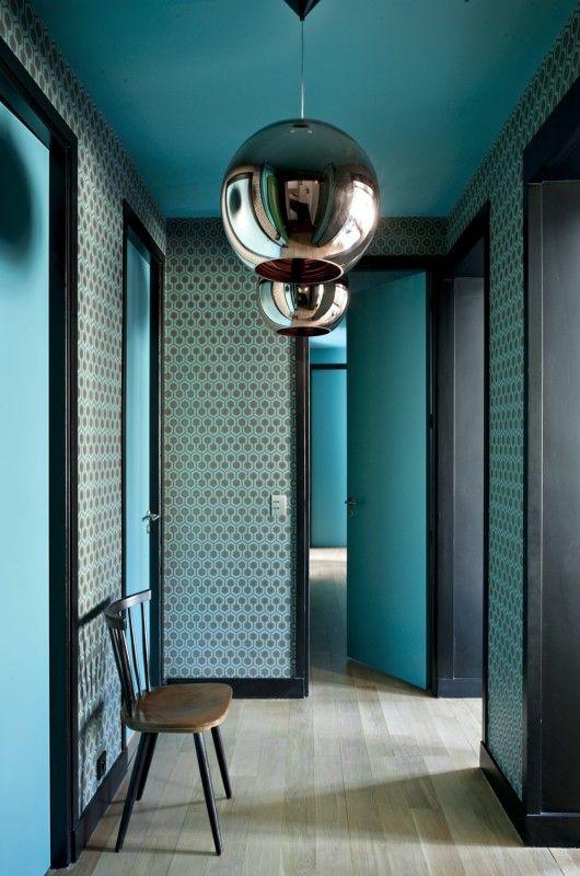 am nager un couloir nos bons tuyaux blog ma maison mon jardin. Black Bedroom Furniture Sets. Home Design Ideas