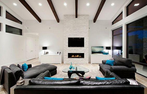 Comment mettre en valeur les poutres apparentes de sa maison blog m - Poutres peintes en blanc ...
