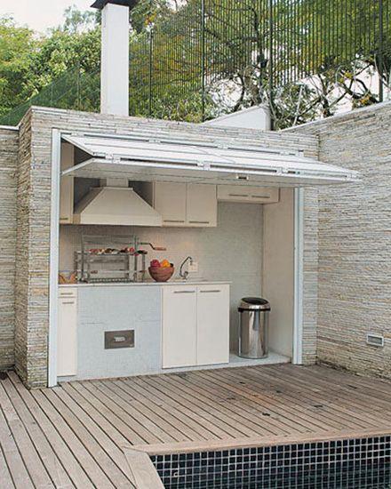 Une cuisine d'été chaleureuse en extérieure : idées d'aménagements et de déco !