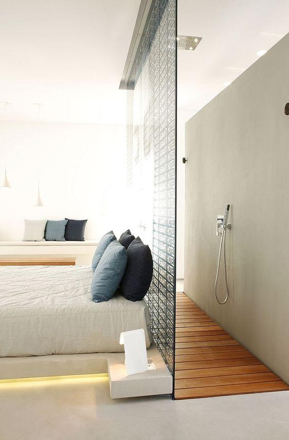 Faire une suite nuptiale avec baignoire dans la chambre for Decoration chambre nuptiale