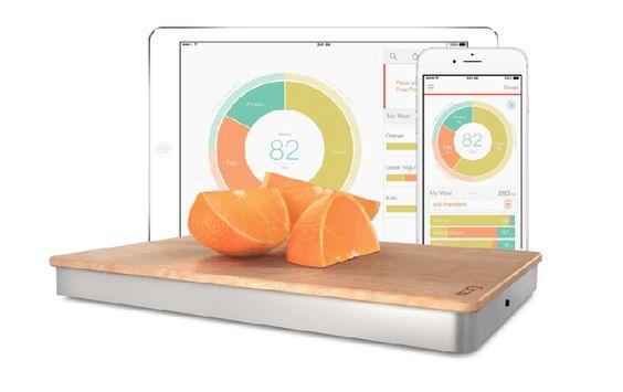 la balance connectée qui surveille votre alimentation, le plus de la cuisine connectée !