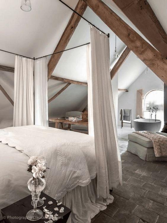 Faire une suite nuptiale avec baignoire dans la chambre for Rideau pour chambre parentale