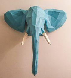 Un éléphant sur le mur