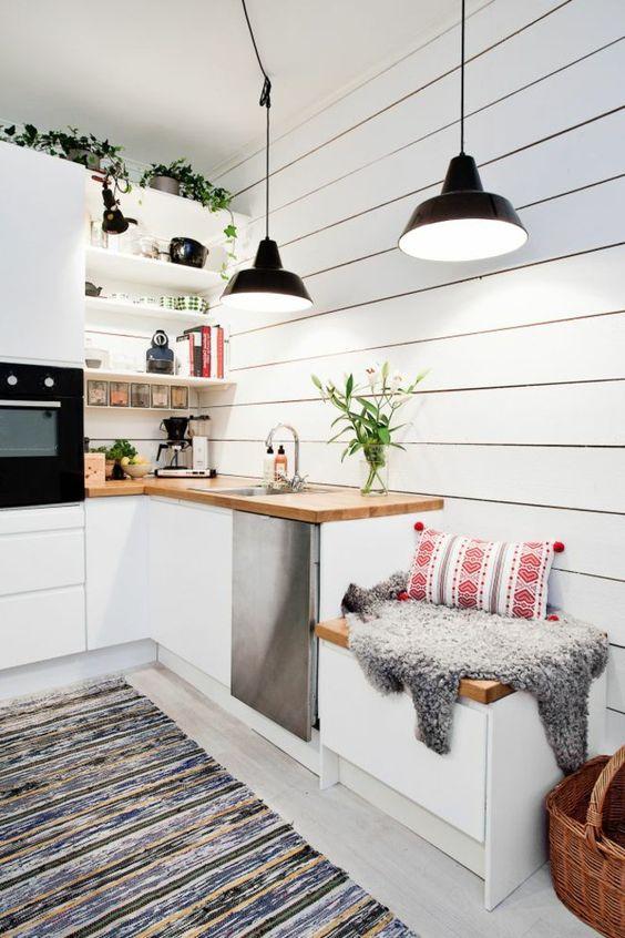 Un tapis dans une cuisine, un choix de déco osé !