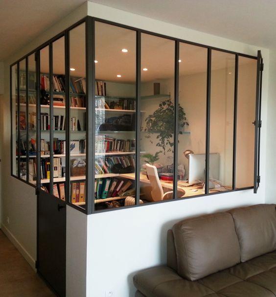 Am nager son coin bureau nos astuces et bons plans blog ma - Coin bureau dans salon ...