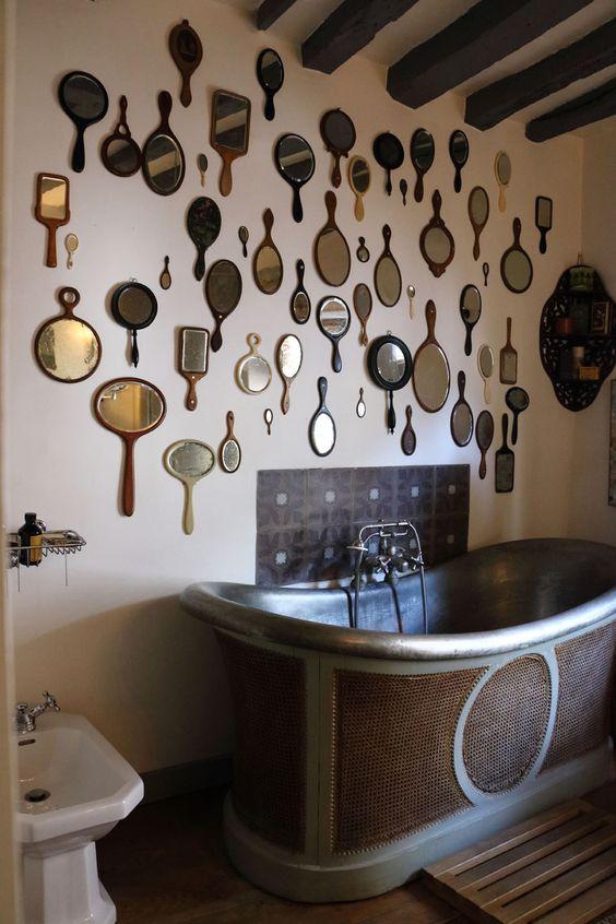 Des miroirs au mur, style et déco !