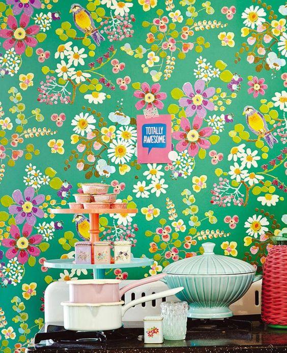 Un papier champêtre pour tapisser vos murs