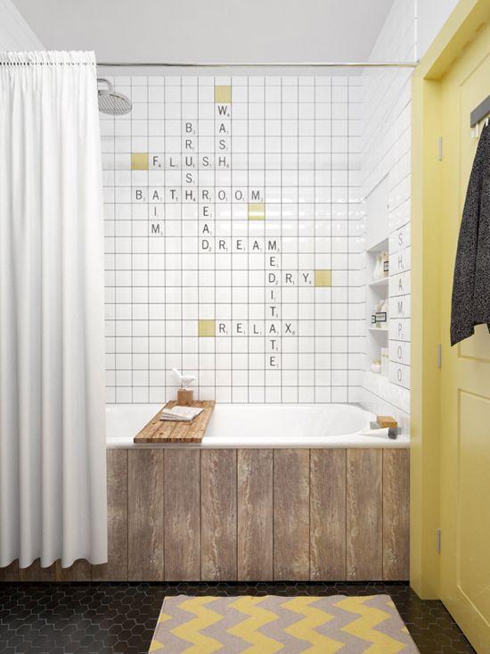 Un tapis dans une salle de bain, une obligation