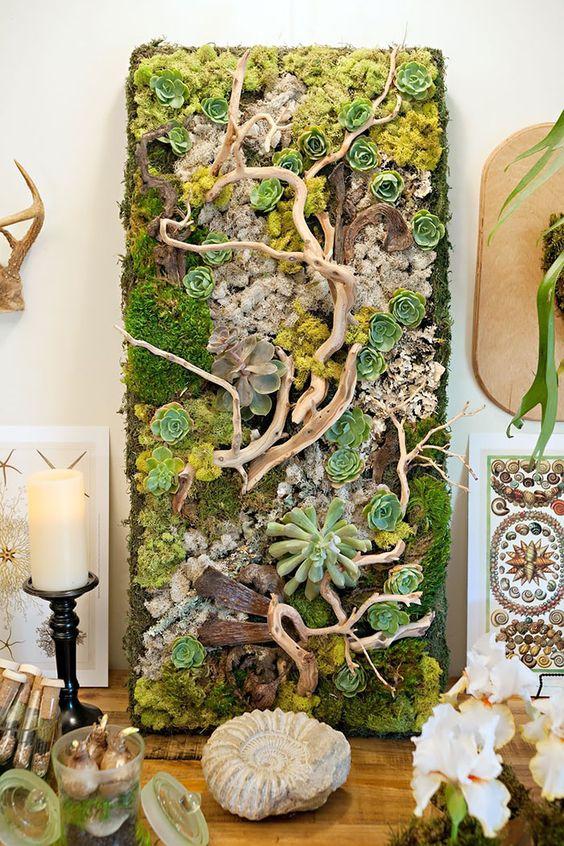 Un mur végétal pour habiller votre décoration intérieure et extérieure