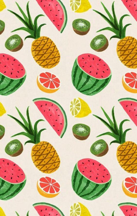 Une tapisserie en salade de fruits : le kitsch au mur !
