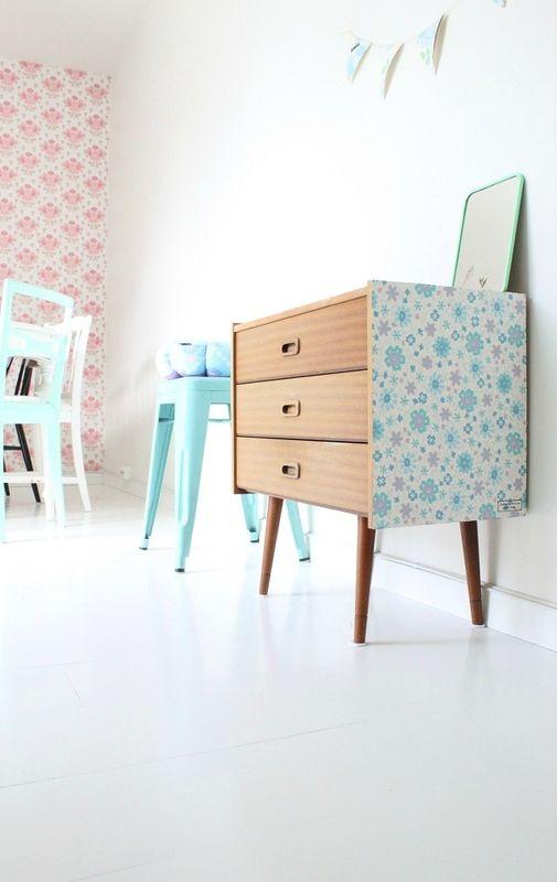 nos astuces d co pour utiliser avec go t du papier peint blog ma maison mon jardin. Black Bedroom Furniture Sets. Home Design Ideas