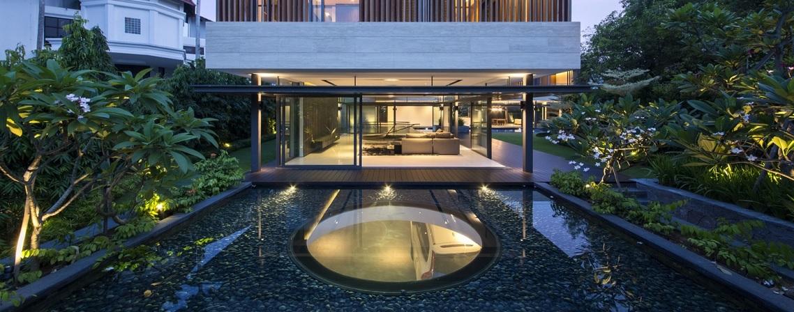 Luxe Calme Et Volupte L Architecture Et L Amenagement Design D Une Maison Speciale Blog Ma Maison Mon Jardin