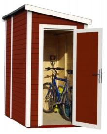 Vous pouvez glisser vos vélos dans cet abri de jardin à prix réduit