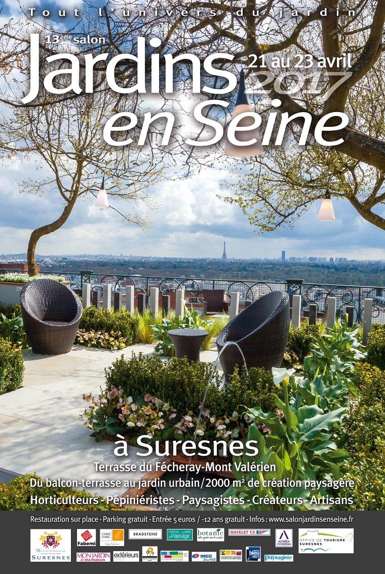 Jardins en Seine, un jardin pour les passionnés de jardin et d'aménagement extérieur