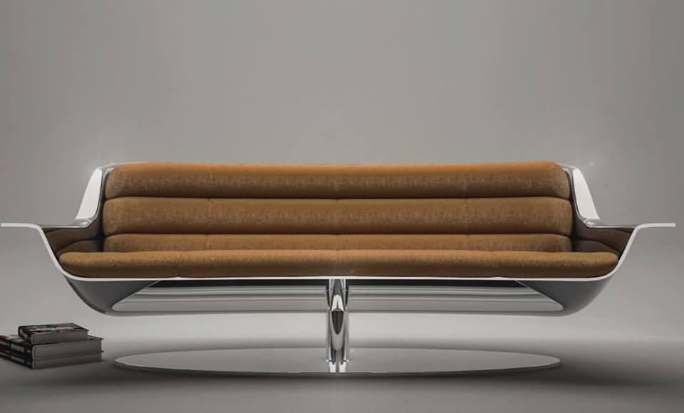 le confort est aussi important que le design pour ces meubles et ce canapé