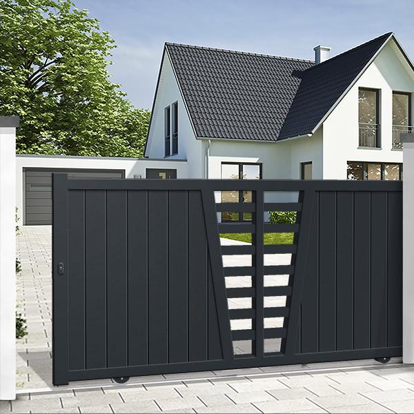 4 raisons de choisir un portail coulissant pour votre entr e blog ma maison mon jardin. Black Bedroom Furniture Sets. Home Design Ideas