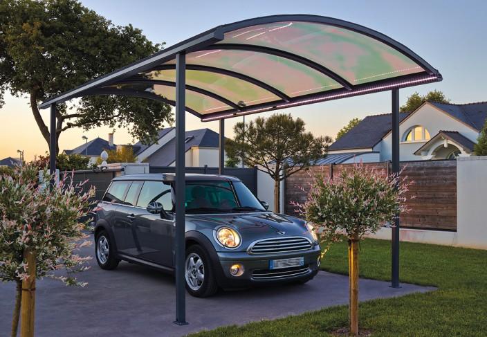 carport en kit aluminium