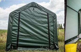 L'abri toile de tente pour une protection saisonnière démontable