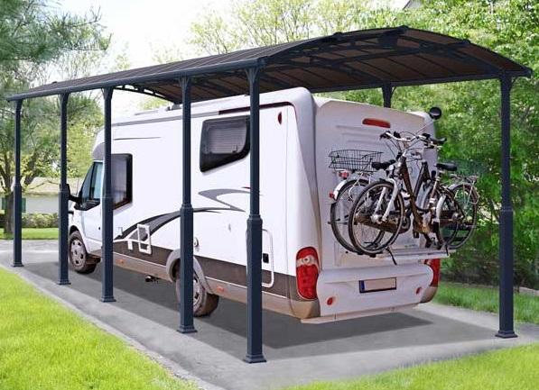 carport véhicules de loisirs