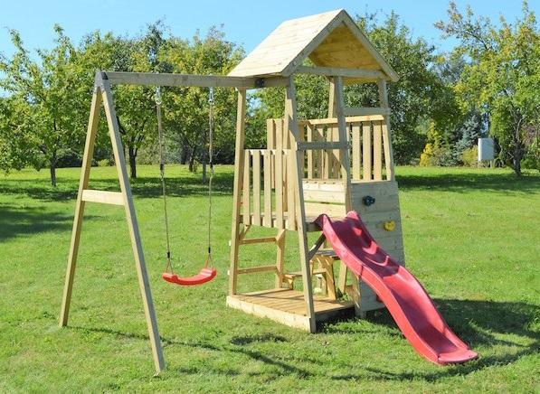 portique de jeux pour enfants de tout âge