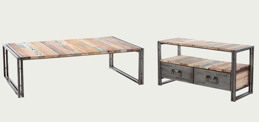 meubles bois recycl samudra mamaisonmonjardin com. Black Bedroom Furniture Sets. Home Design Ideas