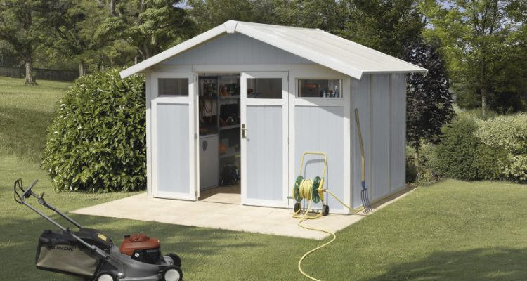 Abri jardin résine - PVC