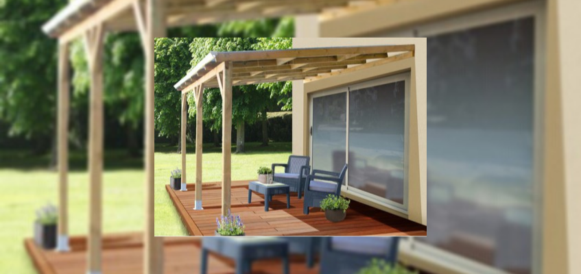 Toit terrasse bois discount