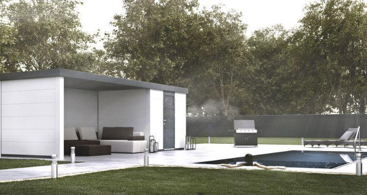 Pool house métal