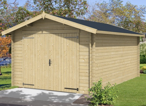 garage bois en kit