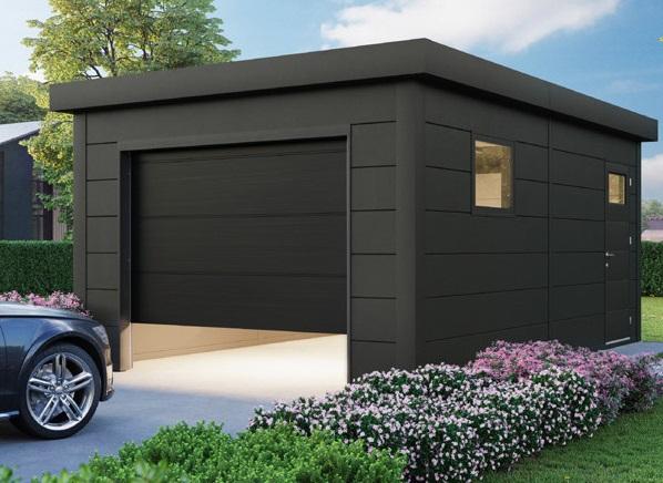 garage métallique en acier
