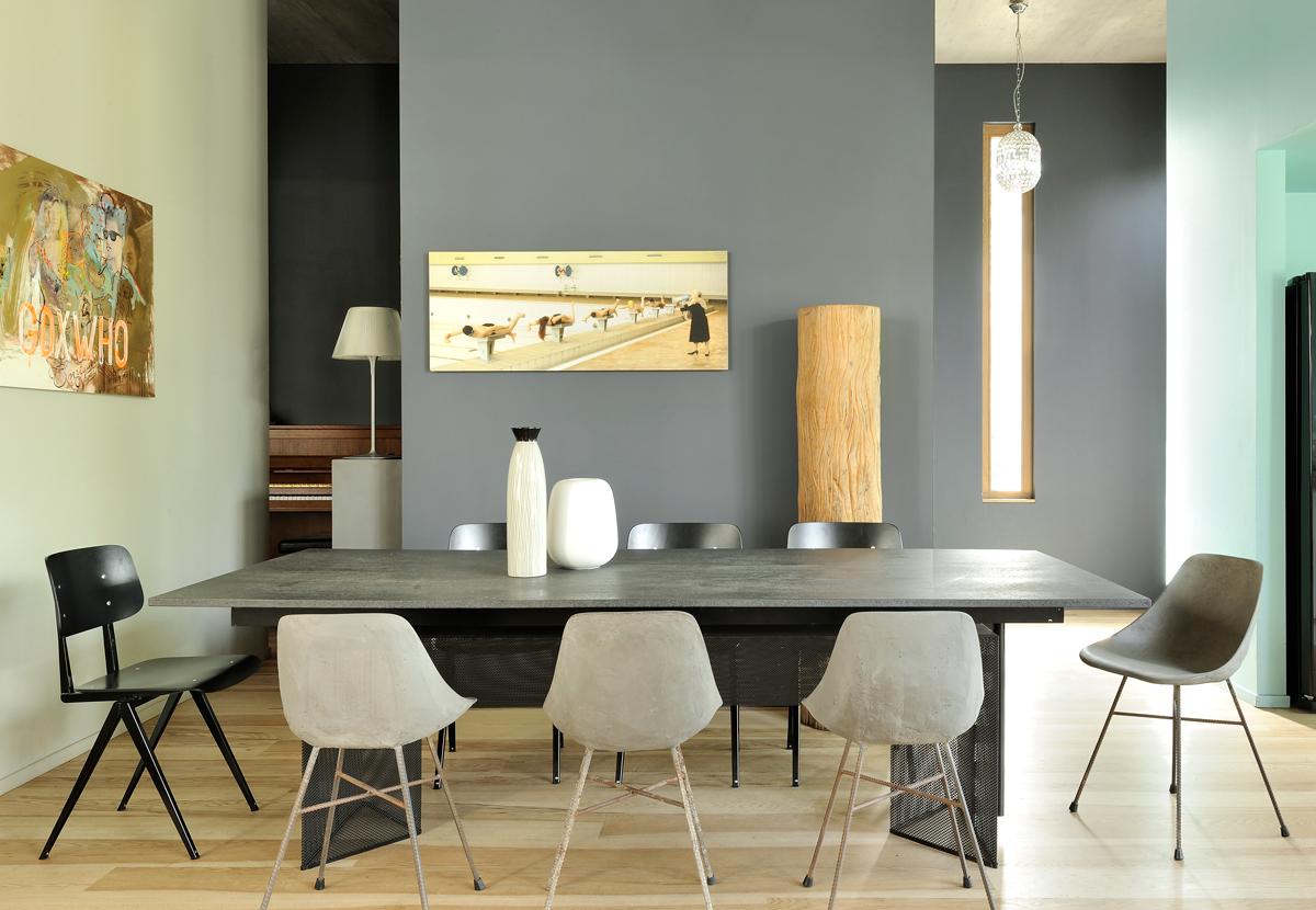Du mobilier en béton pour un intérieur so tendance !