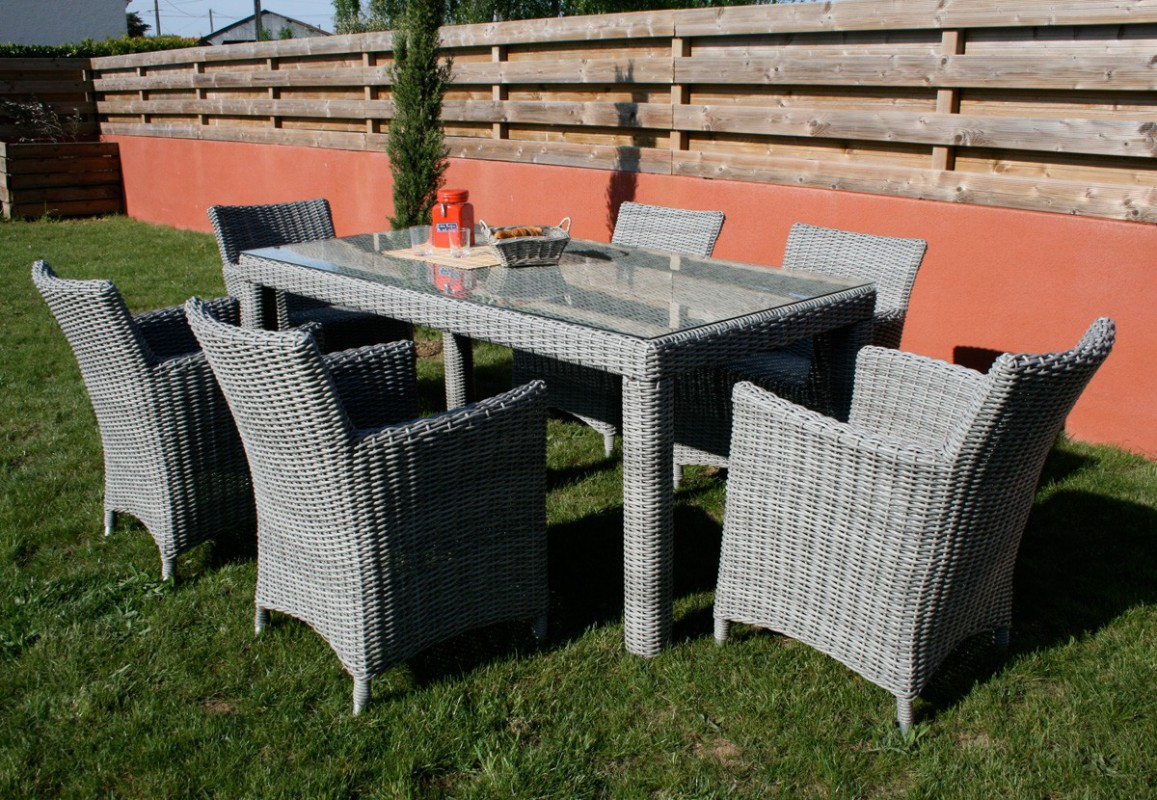Mobilier d 39 ext rieur mamaisonmonjardin com for Table de salon de jardin en resine