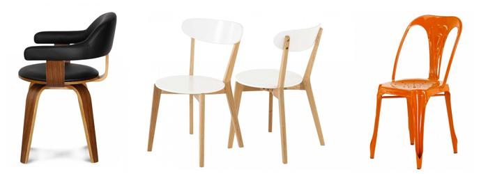 Sélection de chaises design Ma Maison Mon Jardin