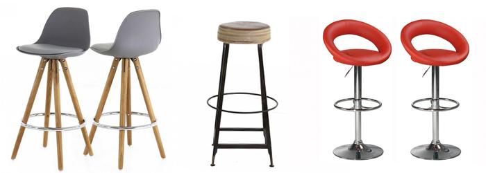 Tabourets de bar et chaises hautes design