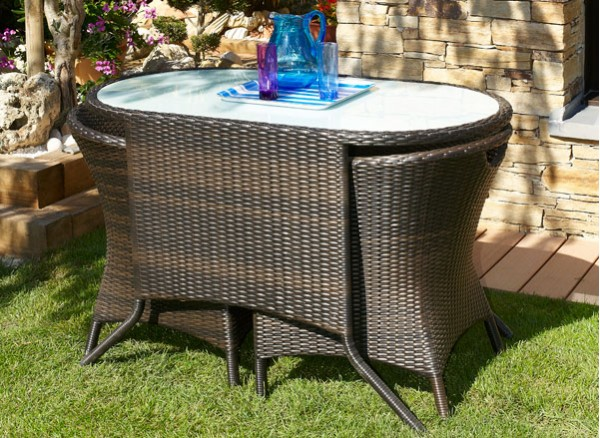 Stunning renover une table de jardin en resine pictures for Carrelage exterieur solde