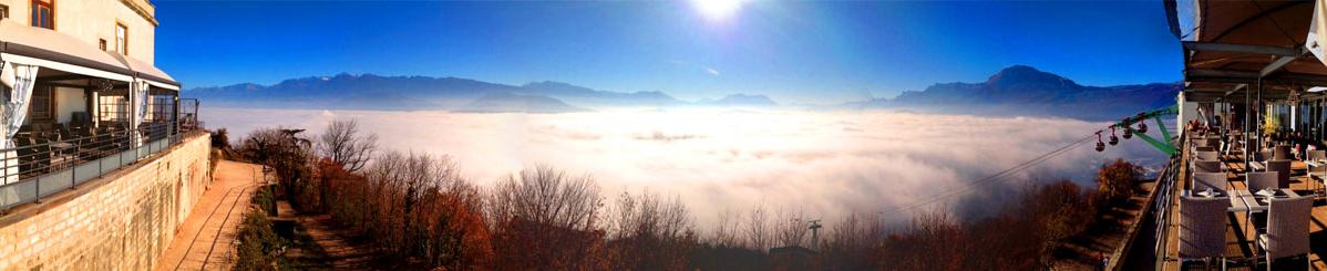 Vue panoramique sur le massif de la Chartreuse
