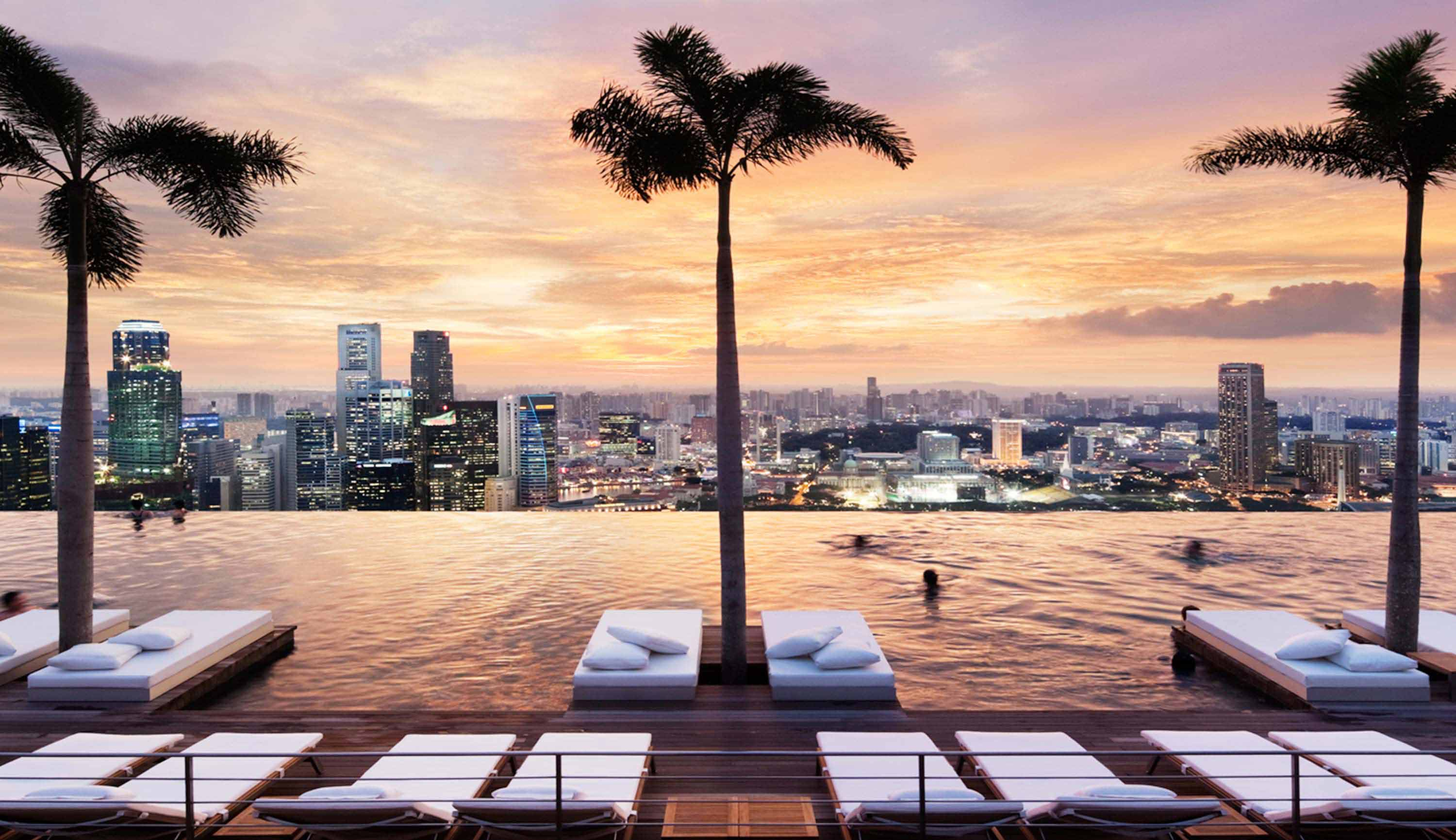 Top 13 des plus belles piscines du monde naturelles - Marina bay sands piscina ...