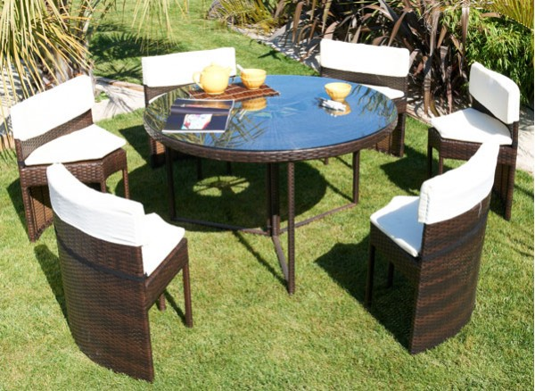 Salon De Jardin Avec Table Ronde. Affordable Salon De Jardin Enfant ...