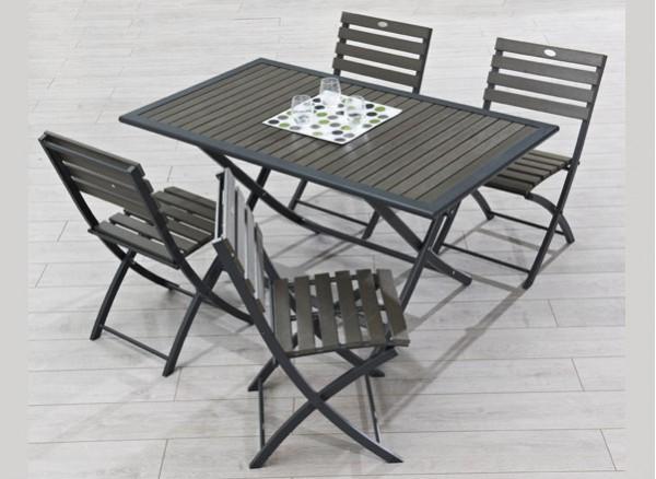 Mobilier et salon de jardin des mod les d clinables l for Mobilier de jardin bois et metal