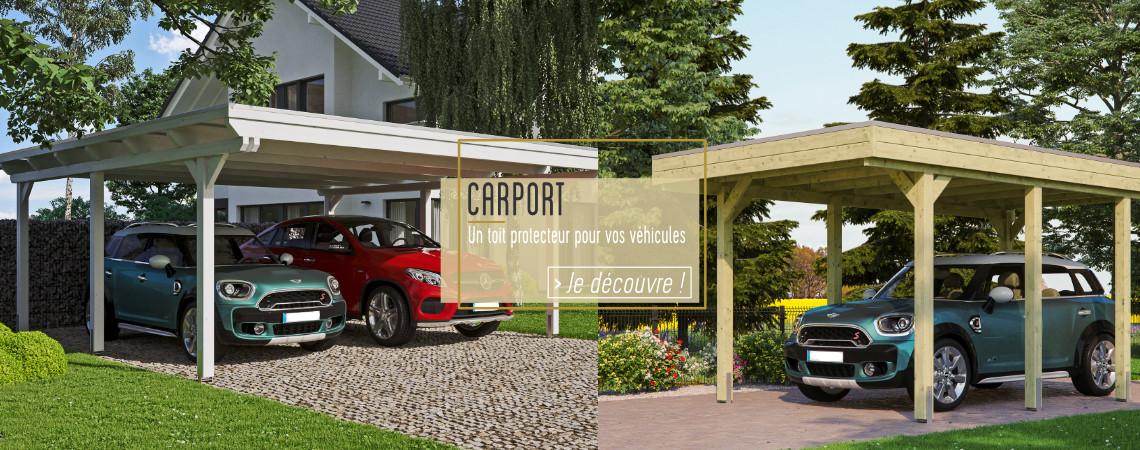 Carport - Prolongez la durée de vie de votre voiture et facilitez-vous le quotidien !